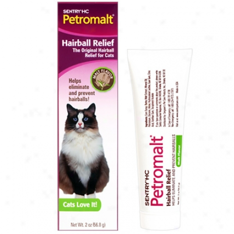 Petrpmalt Hairball Remedy Malt Flavor Tube 56.8gm