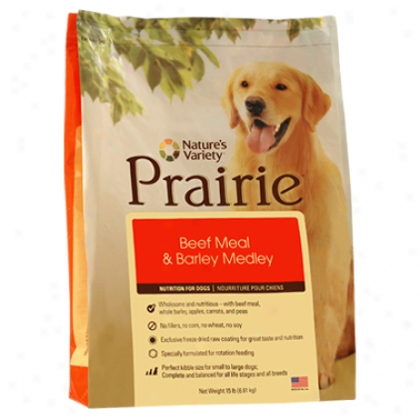 Prairie Kibble Canine Diet