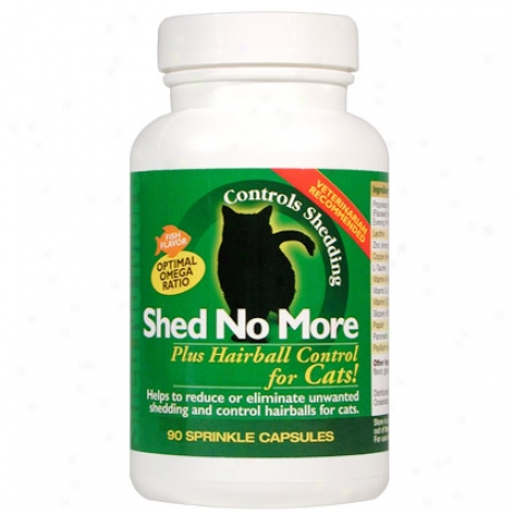 Shed No More Plus Hairbal lControl For Cats 90 Sprinkle Capsules