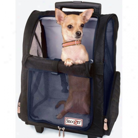 Snoozer Roll Around Travel Pet Carrierr - Air Travel