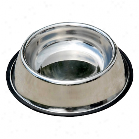Stainless Steel Non Tip 24 Oz Bowl