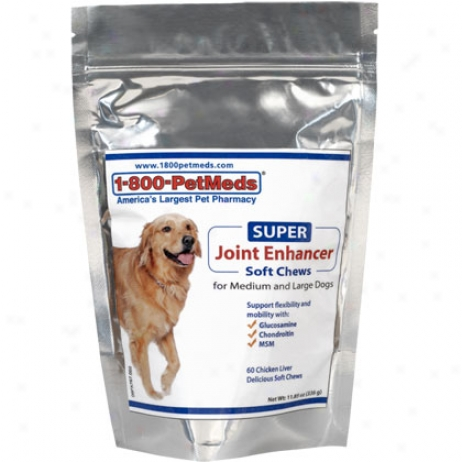 Super Joint Enhancer Soft Chews 180ct Medium & Large Dog