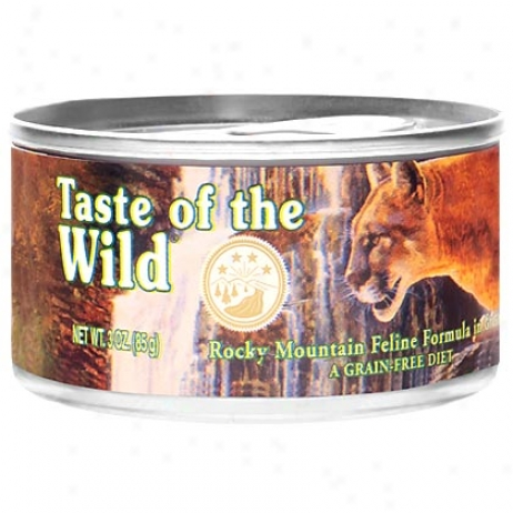 Partake of Of The Wild Can Cat Food
