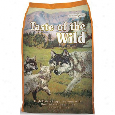 Taste Of The Wild High Prairie Dry Puppy Bison Form