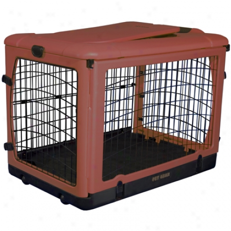 The Super Dog Crate W/cozy Bed