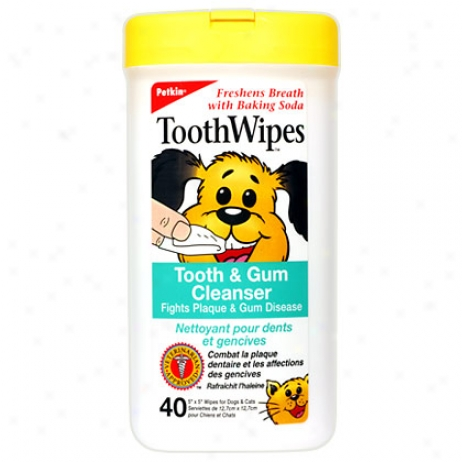 Toothwipes Tooth & Gum Cleanser