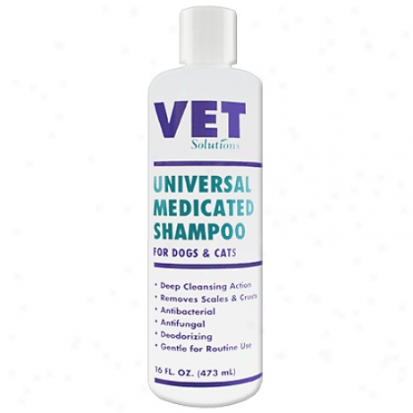 Vet Solutions Universal MedicatedS hampoo 16 Oz