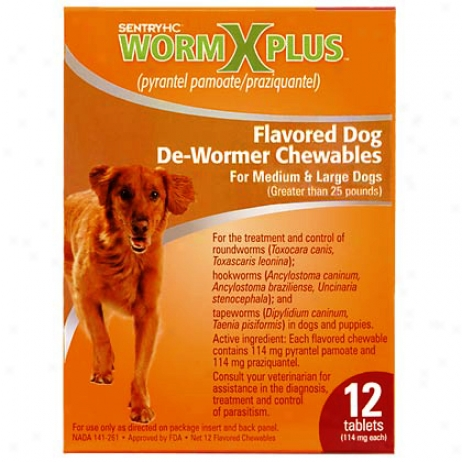 Wormx For Large Dogs 10 Tablet Pk