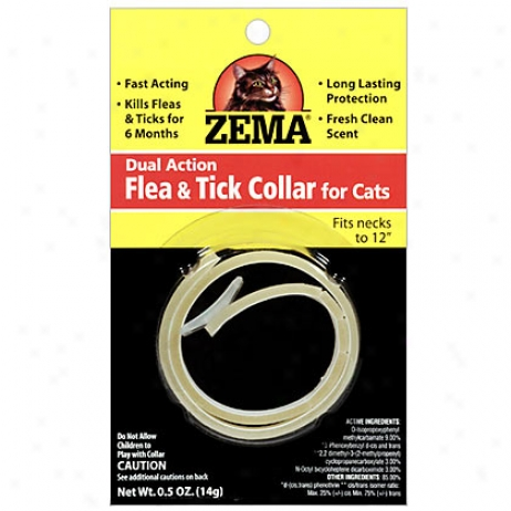 Zema Cat Flea & Tick Collar