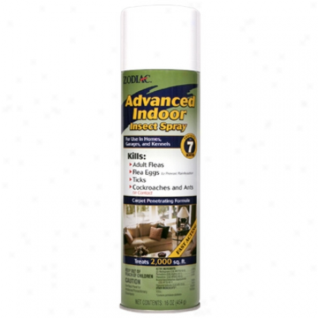Zodiac Advanced Indoor Insect Spray 16oz Aerosol Can