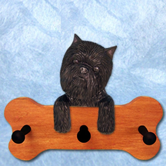 Affenpinscher Bone Hang Up Mapple Finish