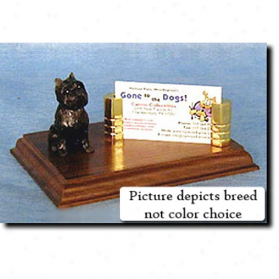 Affenpinscher Business Card Holder