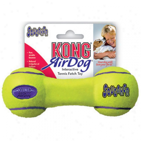 Air Kong Squeaker Medium Dumbell