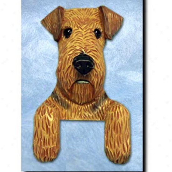 Airedale Terrier Door Topper