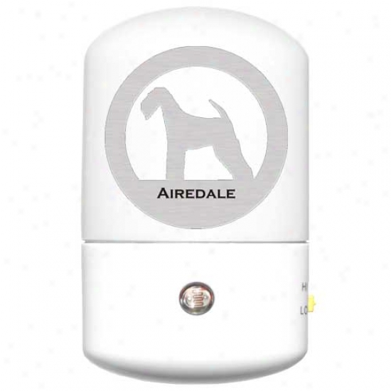 Airedale Terrier Led Night Light