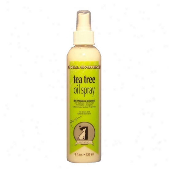 All Systems Tea Tree Oil Spray 8oz