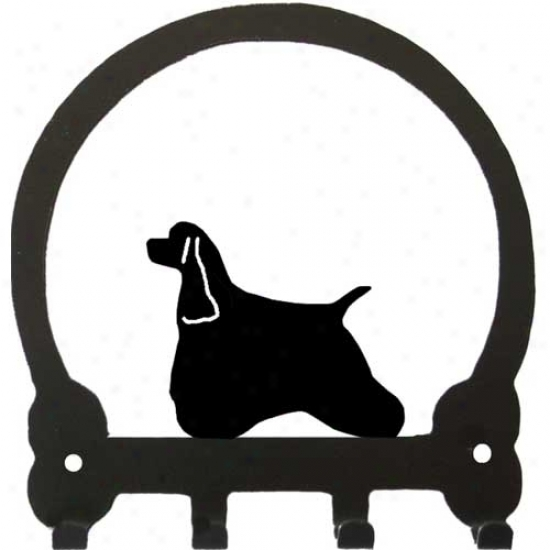 American Cocker Spaniel Key Rack By Sweeney Ridge