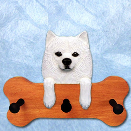 American Eskimo Bone Hang Up Maple Finish