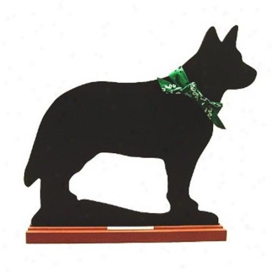 Australian Bovine quadrupeds Dog Blackboard - Table  Model