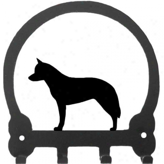 Australian Cattle Dog Key Rack By Sweeney Ridge