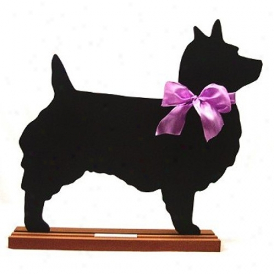 Australian Terrier Blackboard - Table  Model
