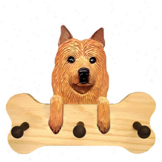 Australian Terrier Bonne Hang Up Natural Oak