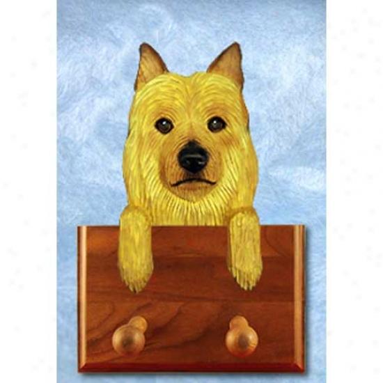 Austrzlian Terrier Leash Holder