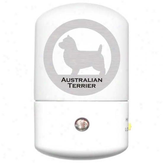 Australian Terrier Led Night Light