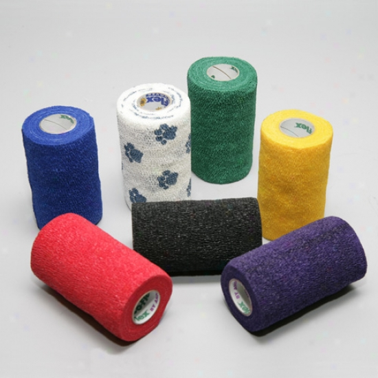 Bandage Wrap Yellow 4 In  X 5 Yards