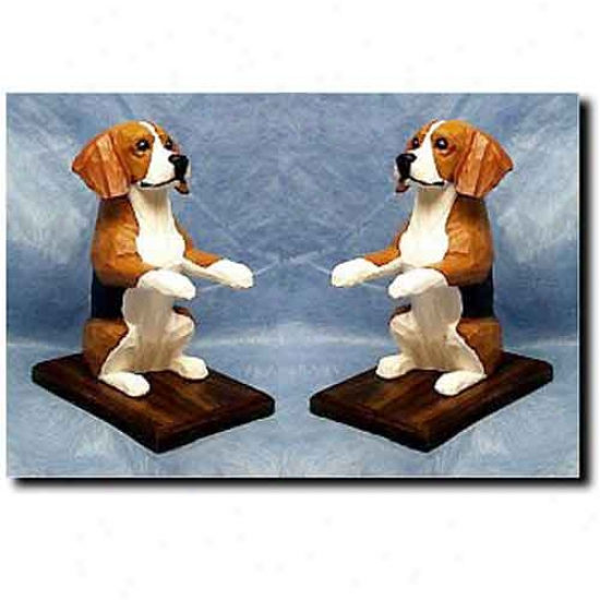 Beagle Bookends