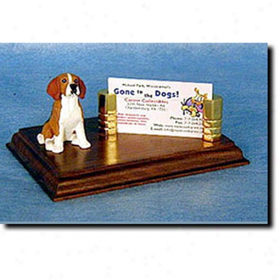 Beagle Business Card Holder
