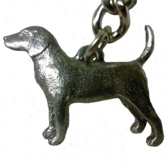 Beagle George Harris Pewter Keyfhain