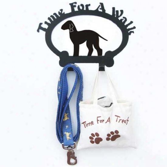 Bedlington Terrier Leash Hplder