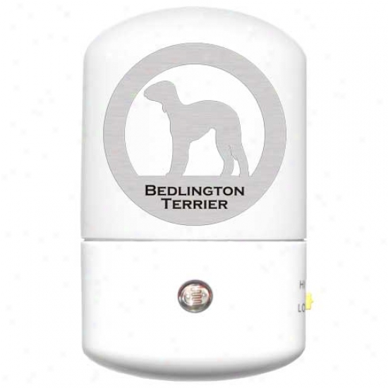 Bedlington Terrier Led Night Light