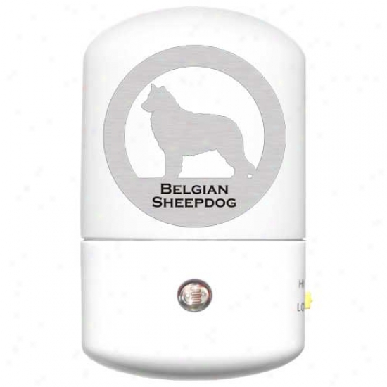 Belgian Sheepdog Led Night Light
