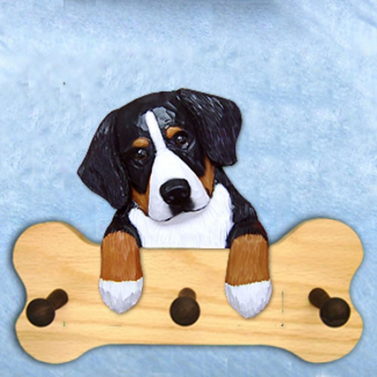 Bernese Mountain Dog Bobe Hang Up Natural Oak