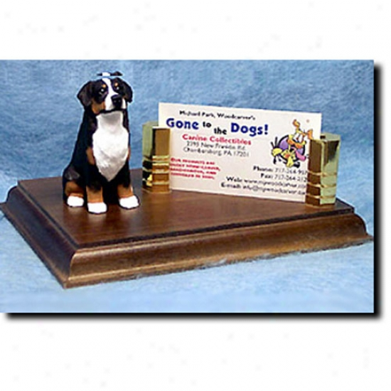 Bernese Mountain Dog Business Card Holder