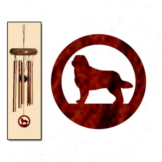 Bentese Mountain Dog Wind Chimes X-small Bronze