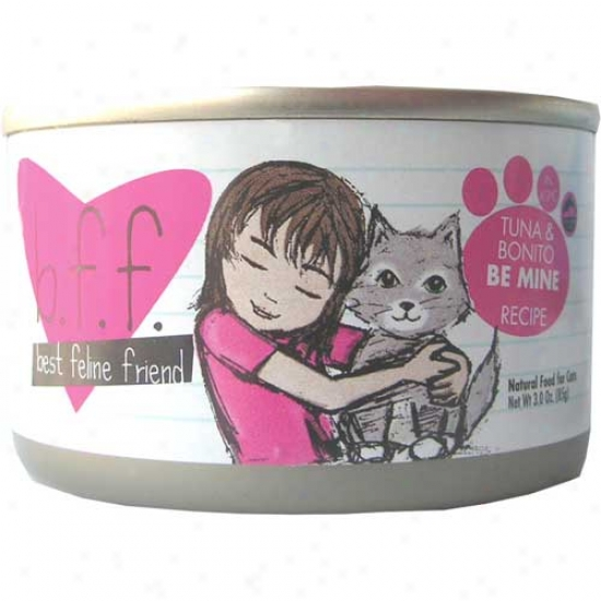 B.f.f Tuna And Bonito Cat Food 3oz Case Of 12 Cans