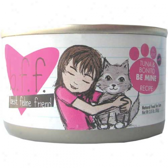 B.f.f Tuna And Bonito Cat Food 5.5oz Covering Of 8 Cans