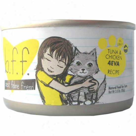 Bff Tuna And Chicken Cat Food 5.5oz Case Of 8 Cans