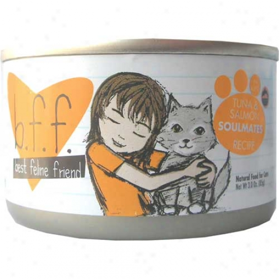 B.f.f Tuna And Salmon Cat Food 3oz Case Of 12 Cans