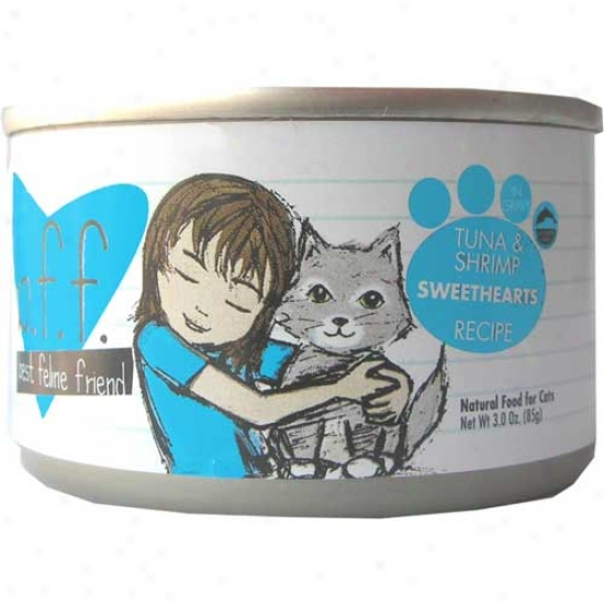 Bff Tuna And Shrimp Cat Food 5.5oz Case Of 8 Cans