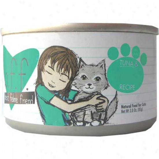 B.f.f Tuna And Veggies Cat Food 3oz Case Of 12 Cans