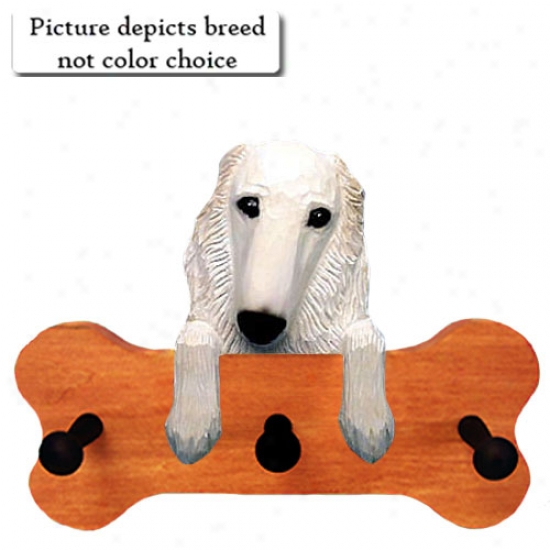 Bi Borzoi Bone Hang Up Maple Finish
