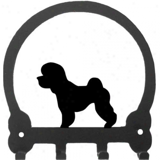 Bichon Frise Tonic Rack By Sweeney Ridge