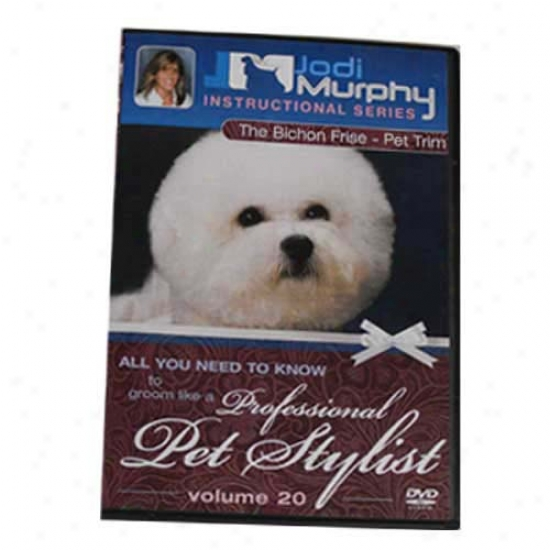 Bichon Frise Pet Trim Grooming Dvd Near to Jodi Murphy