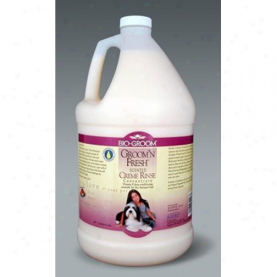 Bio-groom Groom N Fresh Creme Rinse, Gallon