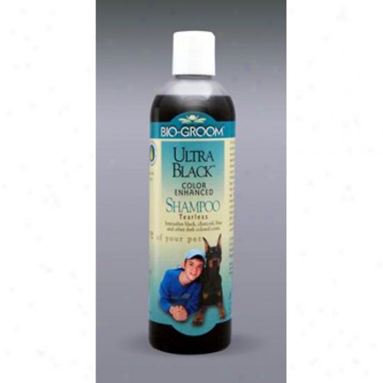 Bio-groom Ultra Black Shampoo, 12 Oz Concentrate 4:1
