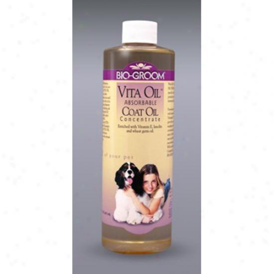 Bio-groom Vita Oil Conditioner, 16 Oz